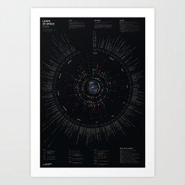 Bureau Oberhaeuser Calendar 2020 Art Print