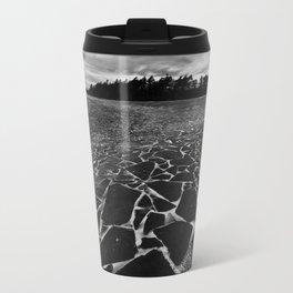 Broken Shards Metal Travel Mug