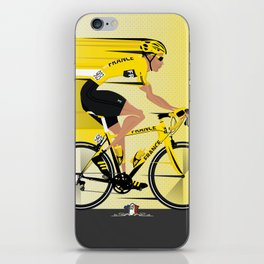France Yellow Jersey iPhone Skin