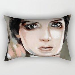 Winona Ryder Rectangular Pillow