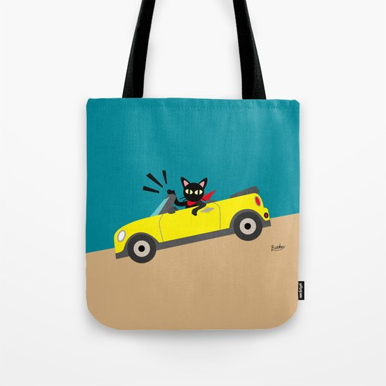Whim in the car Tote Bag