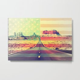 United Monument Valley Metal Print
