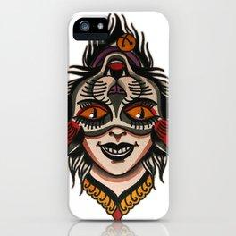 flip cat iPhone Case