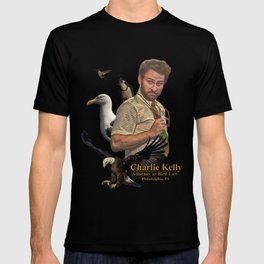 Charlie Kelly: Attorney at Bird Law - Always Sunny - Fan Art T-shirt