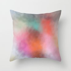 Abstract Square - Colored  Throw Pillow