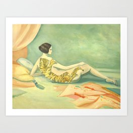 A Savage Beauty Art Print