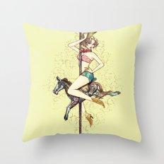 Sexy Texas Throw Pillow