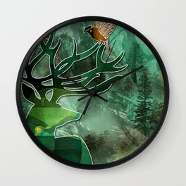 Woodland Harmony Friends Wall Clock