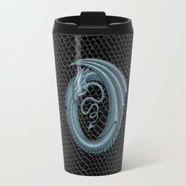 "Dragon Letter O, from ""Dracoserific"", a font full of Dragons Travel Mug"