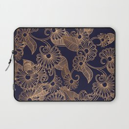 Flower Golden Laptop Sleeve