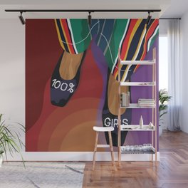 100% Girls - A shoe can save the day Wall Mural