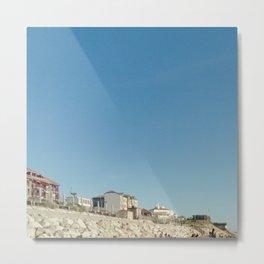 Oceanic landscape: Lacanau  1 Metal Print