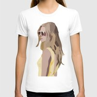 golden T-shirts featuring Golden by Anna McKay