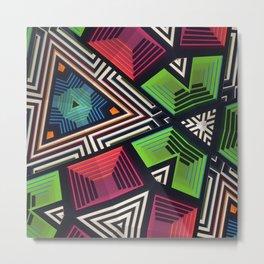 """808"" kaleidoscope Metal Print"