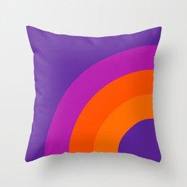 Grape Bow Throw Pillow