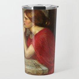 John William Waterhouse Circe 1911 Travel Mug