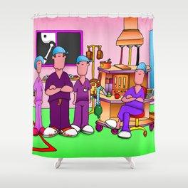Theatre Team #2 Shower Curtain
