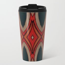 Marais Geometric hand drawn print Travel Mug