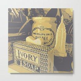 Ivory Metal Print