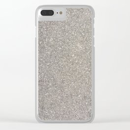 Granite. Fashion Textures Clear iPhone Case