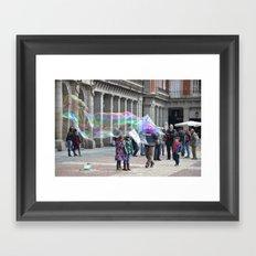 madrid-life Framed Art Print