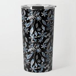 Abstract floral pattern. Travel Mug