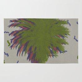 Palm retro Rug