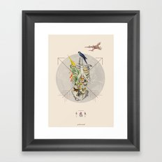 ANTROPOAMORFICO - Love: the pause that refreshes Framed Art Print