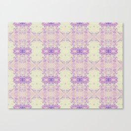 Fuzzy kaleidoscope Canvas Print