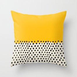 Mid Century Abstract Print, Sunset Art, Living Room Decor, Colour Field, Modernist Modern Art, Colou Throw Pillow