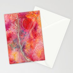 till your love is red Stationery Cards