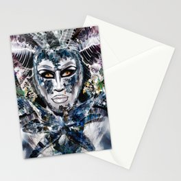 Close Encounters with Glen Alen in OvahFx - Art without a brush  Stationery Cards