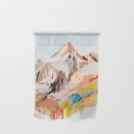 glass mountains Wall Hanging