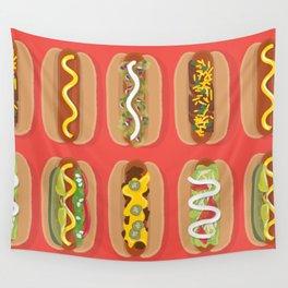 Hotdog! Wall Tapestry