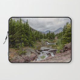 Upper Redrock Falls - Glacier NP Laptop Sleeve