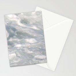 TEXTURES: Laguna Beach Sea Foam #2 Stationery Cards