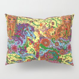 Purrfect Harmony Pillow Sham