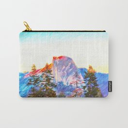 Mountain range in Yosemite National Park Carry-All Pouch
