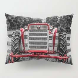IH 240 Selective Red Tractor McCormick-Deering Farmall Pillow Sham