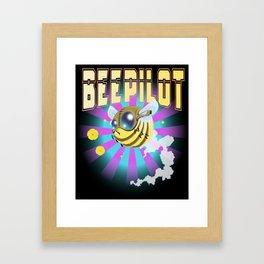 Bee Pilot Framed Art Print