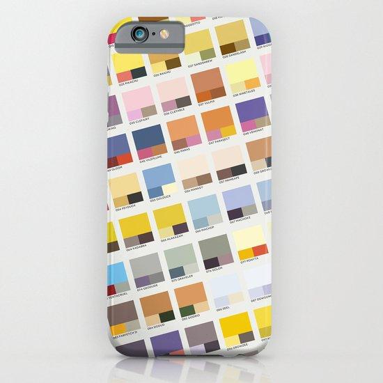 Poke-Pantone 1 (Kanto Region) iPhone & iPod Case