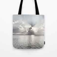 When the sun sets... Tote Bag