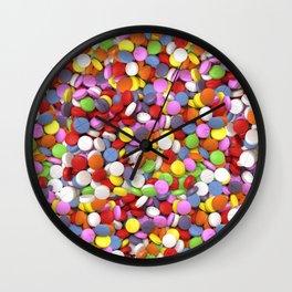 Full of X Wall Clock