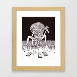 Suddenly Framed Art Print