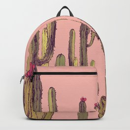 cactus pink Backpack