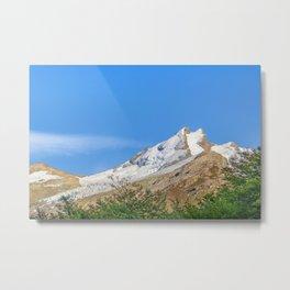 Snowy Mountains, Parque Nacional Los Glaciares, Patagonia - Argentina Metal Print