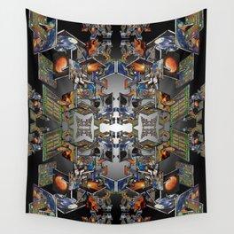 Framework: Fractal Journey Wall Tapestry