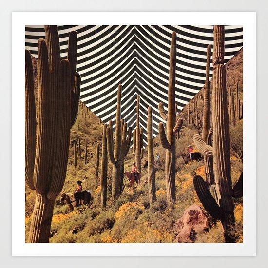Pyschedelic desert by mrbabies2