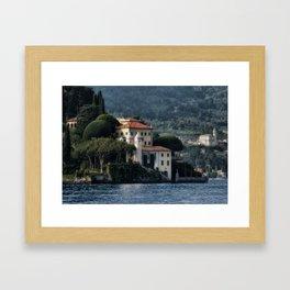 Villa del Balbianello - Lake Como Framed Art Print