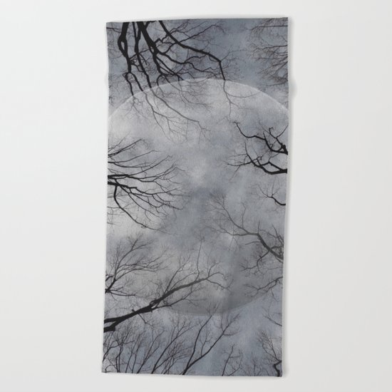 New Moon Rising Beach Towel